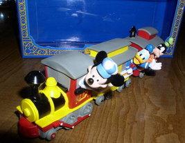 Disney Mickey Donald Goofy Train World Ship - $39.99