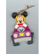 Disney Mickey Mouse Race Car Driver ornament Rare - $25.00