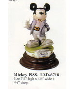 DISNEY Laurenz Capodimonte MICKEY MOUSE 1988 Make OFFER - $280.00