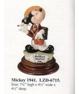 DISNEY Laurenz Capodimonte MICKEY MOUSE 1941 Make OFFER - $240.00