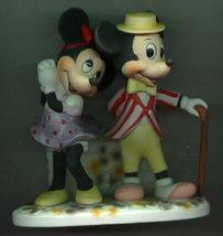 Disney Mickey & Minnie WDP rare Porcelain - $66.00