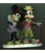 Disney Mickey & Minnie WDP rare Porcelain - $66.00