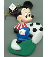 Disney Mickey Mouse Soccer rare Ornament - $33.64