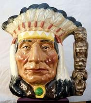 """Royal Doulton Character Jug - """"North American Indian"""" D6611 - $44.99"""