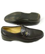 Nunn Bush Dark Brown Leather Loafers Mens Shoes Size 8.5 D US Excellent - $17.70