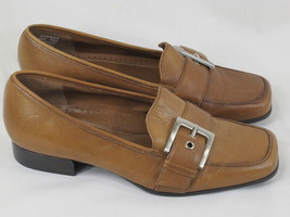 Naturalizer Brown Leather Loafer Shoes Size 5.5 M US Excellent Condition - $12.56