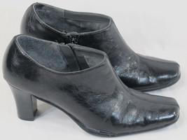 Aerosoles Black Shoe Boot Heels Size 7.5 M US E... - $19.35