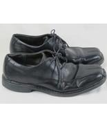 Nunn Bush Black Leather Oxford Shoes Men's Size 9 M US Excellent Condition - $17.82