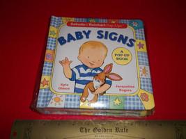 Scholastic Baby Signs Book Sabuda & Reinhart Pop-Up Sign Language Art Storybook - $18.99