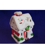 Christmas Ceramic Small House Votive Candle Holder - $16.99