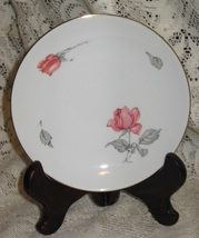 Royal Palatine-# 675 Pink Roses w/ Gray Leaves Bread /Butter Plate- Germany - $4.00