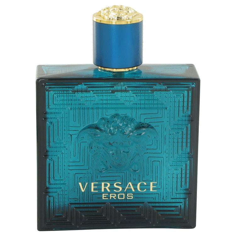 Versace eros 3.4 oz eau de toilette tester