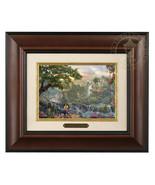 Thomas Kinkade Disney's Jungle Book Framed Brushwork (Burl Frame) - $88.63