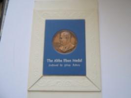 Israel , The Abba Eban Medal , Bronze , Uncirculated - $50.00