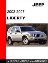 Details about  JEEP LIBERTY 2002 - 2007 FACTORY SERVICE REPAIR WORKSHOP... - $14.95