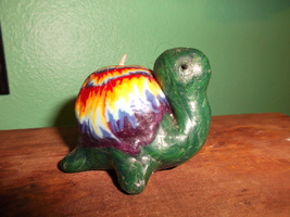 Turtle Ombre Candle - $5.00