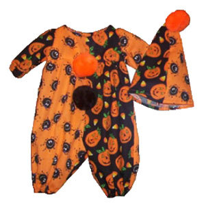 Preemie & Newborn Baby Clown Halloween Costume
