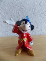 Disney Fantasia Sorcerer made in China Figurine  - $12.00