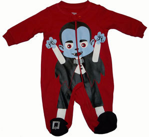 Primary image for Baby Boys Lil Vampire Footed Sleeper