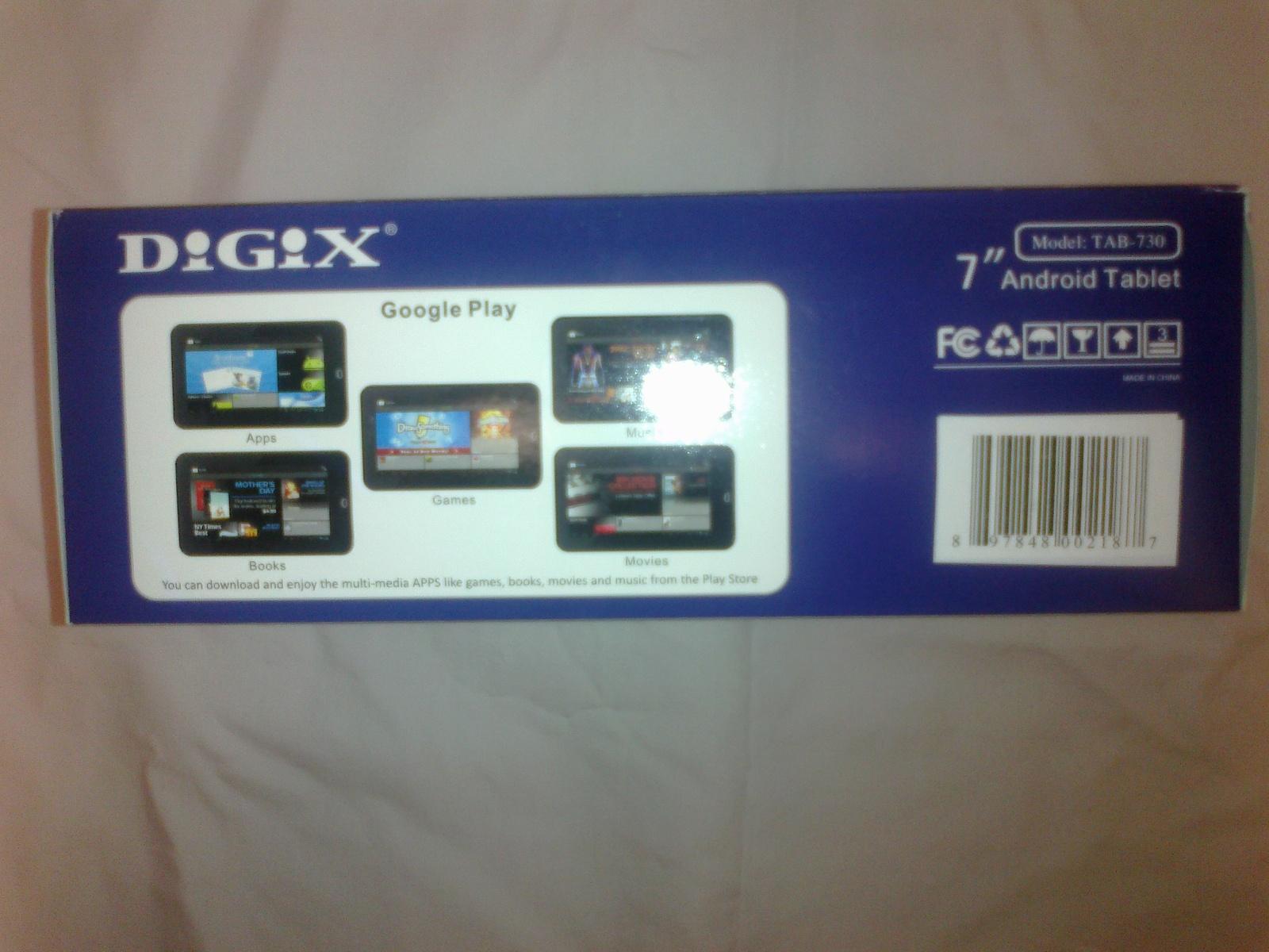 Digix Tab-730 7