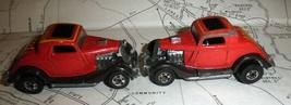 Hot Wheels car - 2 Red Hot Rods -Mattel 1979 - $5.00