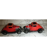 Hot Wheels car - 2 Red Hot Rods -Mattel 1979 - $5.00