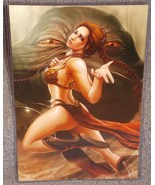Star Wars Slave Leia  Jabba The Hutt Glossy Pri... - $24.99
