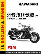 Details About  Kawasaki Vn900 Vulcan900 Classic Vulcan900 Classic Lt Manual Acc - $14.95