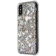 Case-Mate Karat Pearl Series Case for Apple iPhone XS/X - Clear/Pearl Fl... - $32.99