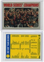 MLB World Series Champion 2019 Topps Heritage card #1 Boston Red Sox MNT - $1.25