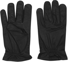 Black Leather Gloves With Cut Resistant Lining - $728,42 MXN