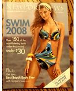 NEWPORT NEWS Swimsuit Catalog 2008 Jeanology Fashion Marissa Miller OOP ... - $15.80