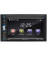 Planet Audio P650MB Double Din, Touchscreen, Bluetooth, MP3/USB/SD AM/FM... - $69.35