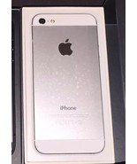 Smartphone Apple iPhone 5 - 16GB White & Silver - iOS 10.3.3 - $125.00