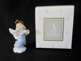 Avon Precious Moments Porcelain Angel Ornament by Enesco - $8.95