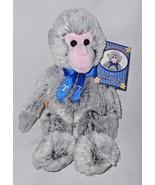 Build a Bear Nolan Ryan Monkey Plush Stuffed Animal Grey Texas Rangers 34 - $16.79