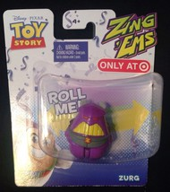 DISNEY TOY STORY ZURG FIGURE  ZING 'EMS - New! - $4.94