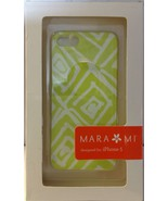 Mara Mi iPhone 5 Snap On Case Green Abstract Print Design - NEW in box! - $7.94