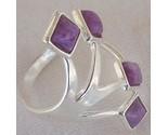 Purple branch silver ring thumb155 crop