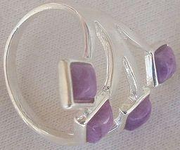 Purple branch silver ring 2 thumb200