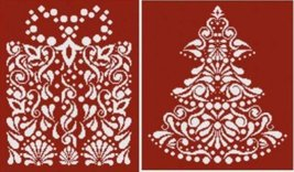 Christmas In White 1 cross stitch chart Alessandra Adelaide Needlework - $24.30