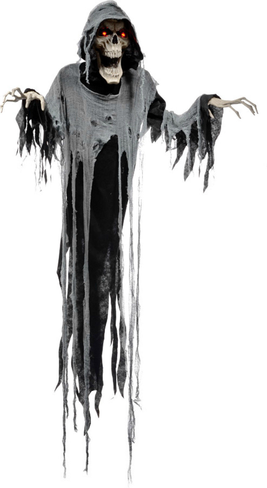Animated Hanging Soul Reaper 72 inch Halloween Prop