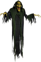 Animated Hanging Witch 72 inch Halloween Prop - $63.86