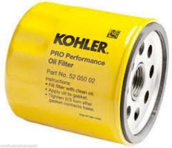 Genuine Kohler Oil Filter 52 050 02-S, 5205002, 52 050 02 - Set Of 3 - $29.99
