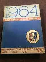 1964 buick lesabre wildcat electra 225 riviera service repair manual oem - $39.54