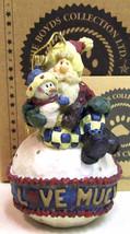 "Boyds Carvers Choice ""Adoranick.. Love Much"" Resin Ornament- #370207-3E-NIB - $19.99"