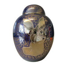 Engraved Blue Angel Infant Child Brass Cremation Urn for Ashes - $131.60