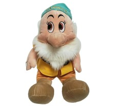 "28"" LARGE VINTAGE DISNEY STORE SEVEN DWARFS BASHFUL STUFFED ANIMAL PLUSH... - $92.57"