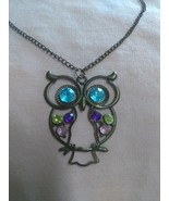 Vintage owl necklace pre-owned - $14.00