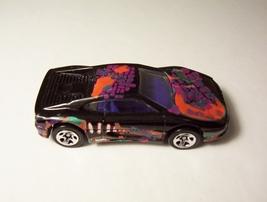 Hot Wheels Ferrari 355 Black Car Pedal to the Metal #2 Rockin Rod Series... - $6.99
